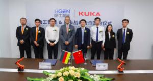 哈工智能与KUKA签订战略合作协议,布局机器人新生态